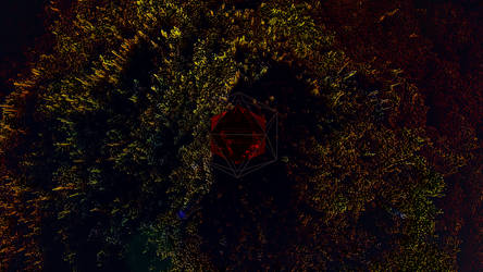 Low poly shot by DeJv98-Universe