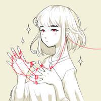 red string of fate by batsu-nozuchi