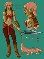 Desert Rose Character Sheet by drgnelf