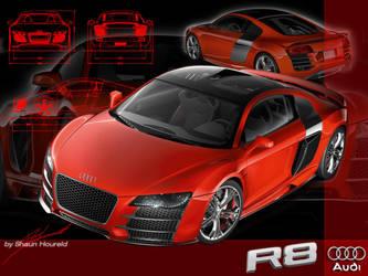 Audi R8 TDi - 1600x1200 by The-LoneWarrior