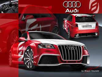 Audi-A3-tdi-clubsport-quattro- by The-LoneWarrior