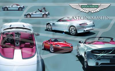 2007 AstonMartin V8 Vantage Ro by The-LoneWarrior