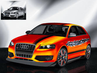 Audi S3 - 1600x1200 by The-LoneWarrior