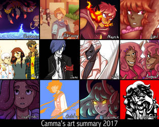 Art Summary 2017 by Cammadolph