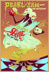 Pearl Jam poster by allisonbamcat