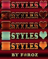 Matte Powder Photoshop Layer Styles / ASL by nisanboard
