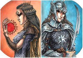 Queen Nymeria Of Rhoynar by ProKriK