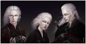 Young Targaryens by ProKriK