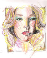 Prisma Color Pencil Practice by timmieee