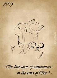 IHeart Adventure Time by KarinMao
