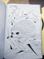 Inktober Day#25 Prickly by KarinMao