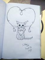 Inktober Day#28 Gift by KarinMao