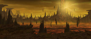 Badlands of Ardon by RafaLopez
