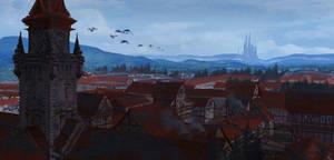 Hopeless Village by RafaLopez