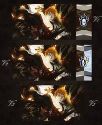 Ichigo Tag Wall by 3l4n63l