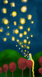 I Want to See the Lanterns by AbsyntheRequiem