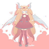 [C] Lovely demon by luupon