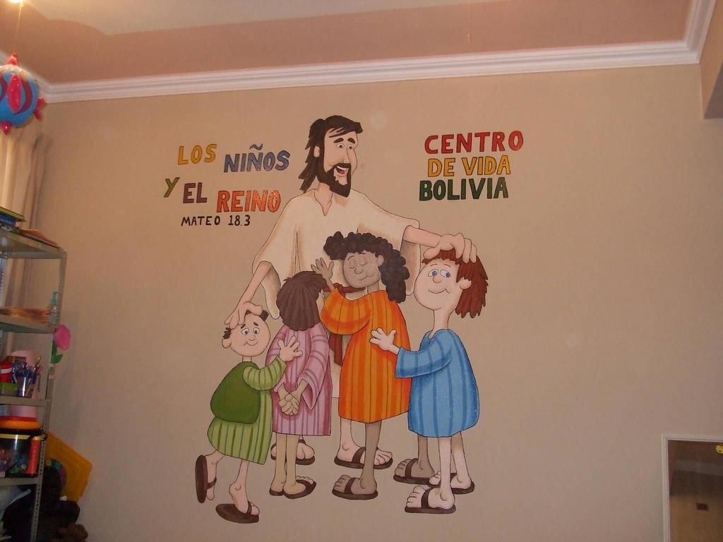 Bolivia Mural by RandomK