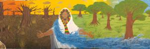 The Jericho Mural by RandomK