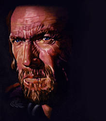 Clint 'Rancheros' Eastwood by choffman36