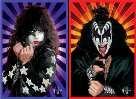 Kiss vectors by choffman36