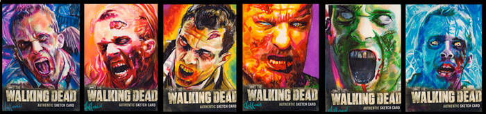 walking dead season two walkers by choffman36