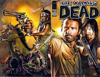 Walking dead 109 4th comic by choffman36