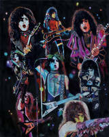 Paul Stanley prisma collage by choffman36