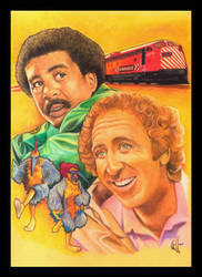Gene Wilder Richard Pryor by choffman36