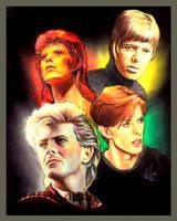 David Bowie by choffman36