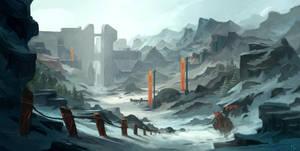 Return to Glacial Kingdom by MarkPanchamArt