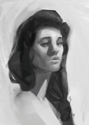 Portrait Practice by MarkPanchamArt