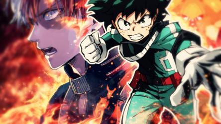 Boku No Hero Academia - Sora Ni Utaeba by MichaelRusPro