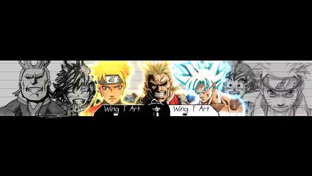 Wing T Art banner by MichaelRusPro