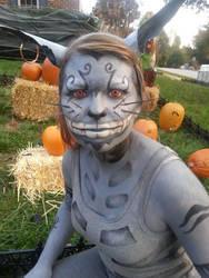 American McGee's Cheshire Cat by TheScreechingPumpkin