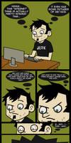 Dan Vs. Rule 34 by Cartoon-Admirer