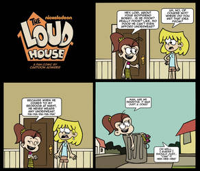The Loud House - If You Can't Take The Joke by Cartoon-Admirer
