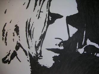Kurt Cobain by Oskar1985