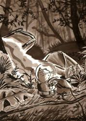 Lost in the Jungle by aisu-kaminari