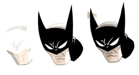 Batman Head by aisu-kaminari