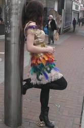 Sellotape Dress by Mellybean91