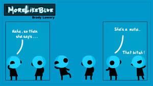 MoreLikeBlue: Mute by MrGobi