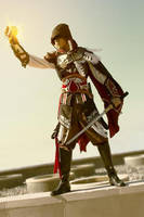 Assassin's Creed Cosplay: Master Assassin Ezio by Winged-Mouz