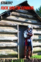 Assassins Creed III: Haters gonna hate by Winged-Mouz