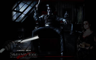 Sweeney Todd Wallpaper by LazarusDrealm