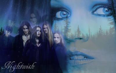 Nightwish with Tarja Wallpaper by LazarusDrealm