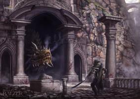 Silmarillion - Turin and Glaurung by helgecbalzer