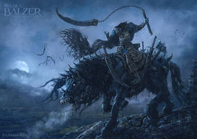 Hexxen - Headless Rider by helgecbalzer