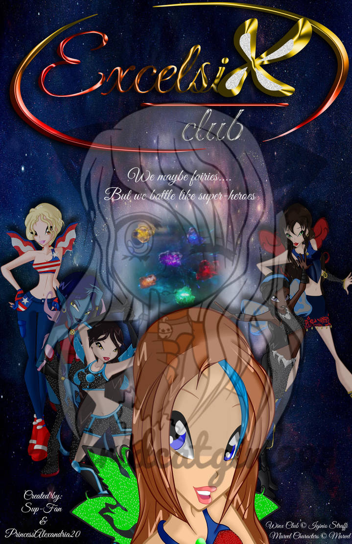 CE: Exclesix Club Poster by HybridCatgirl995