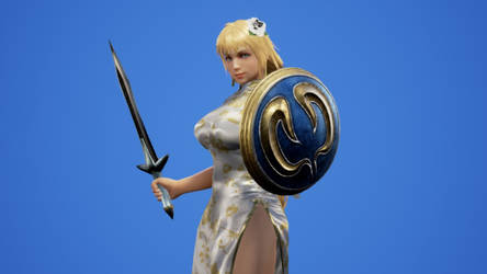 Sophitia Chinese New Year Dress by DOAPersonafan123